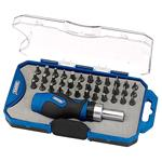 Draper 37 Piece Ratchet Bit Set