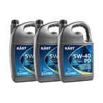 KAST 5w40 PD Fully Synthetic Engine Oil. 15 Litre