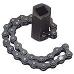 Draper 1/2 Square Drive OR 24mm 130mm Capacity Chain Oil Filter Wrench