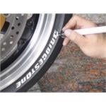 White Tyre Paint Pen - Fill In the Blanks on Your Wheels for a New Look