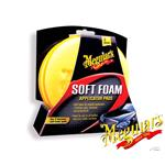 Meguiars® High Tech Foam Applicator Pads (Twin Pack) Use On Leather/Rubber/Vinyl