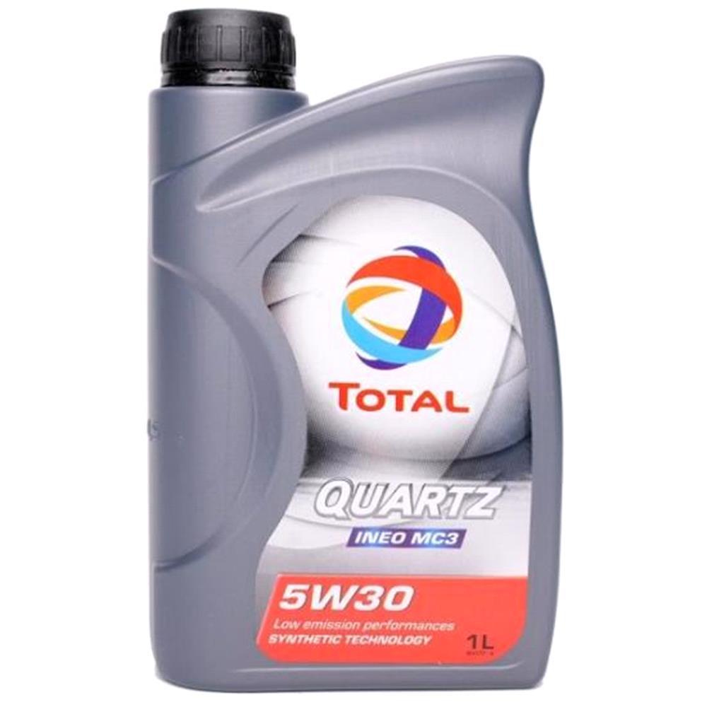 Total quartz ineo mc3 5w30 fully synthetic engine oil 1 litre for Total quartz motor oil