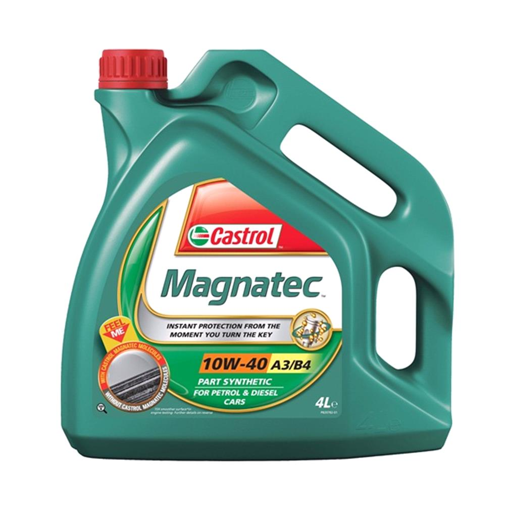 Castrol magnatec 10w40 a3 b4 semi synthetic engine oil 4 for Castrol synthetic motor oil