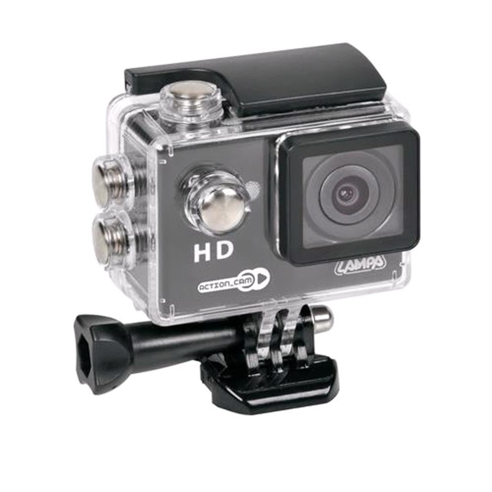 720P Action Camera With Accessory Kit