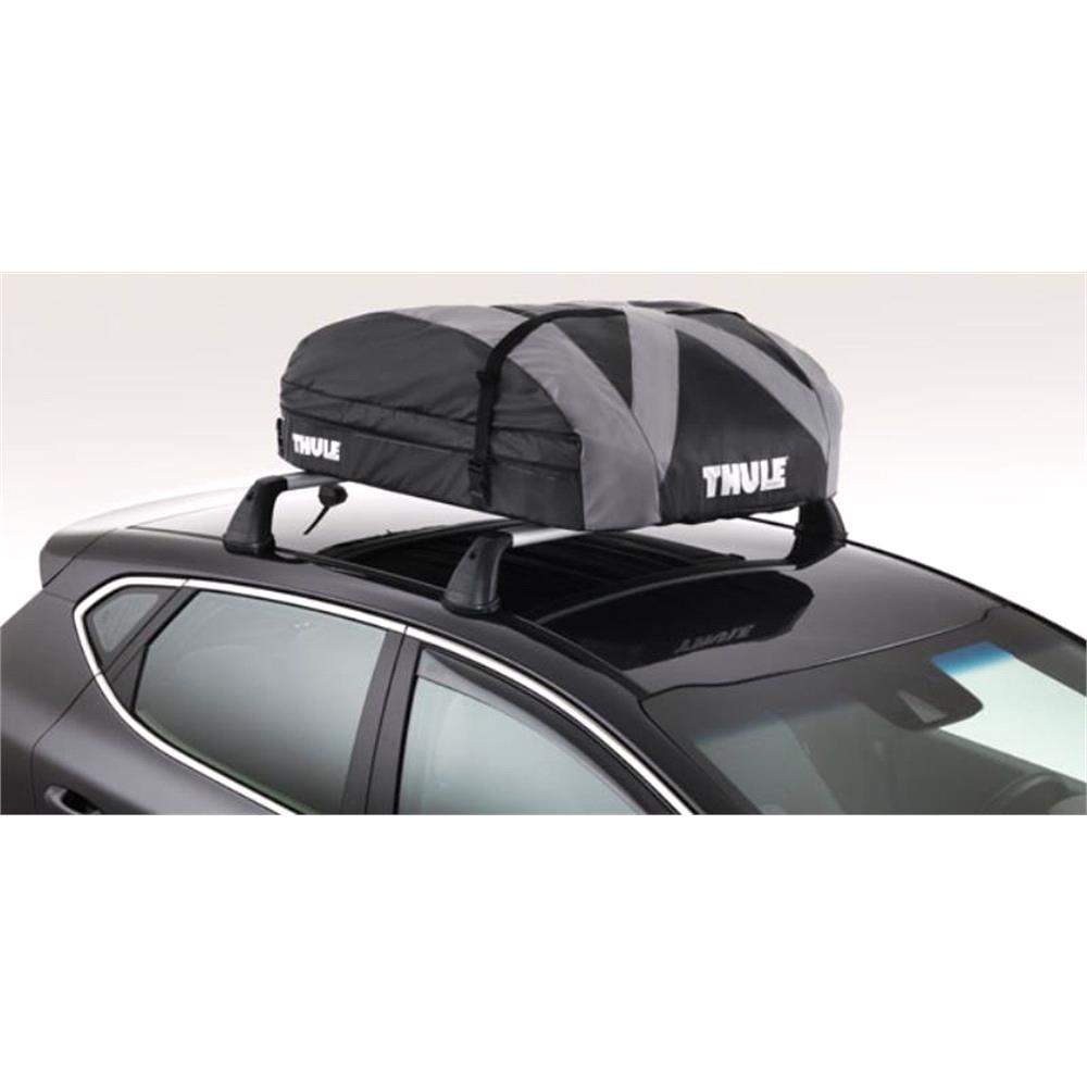 thule ranger 90 foldable roof box 340l car storage box. Black Bedroom Furniture Sets. Home Design Ideas