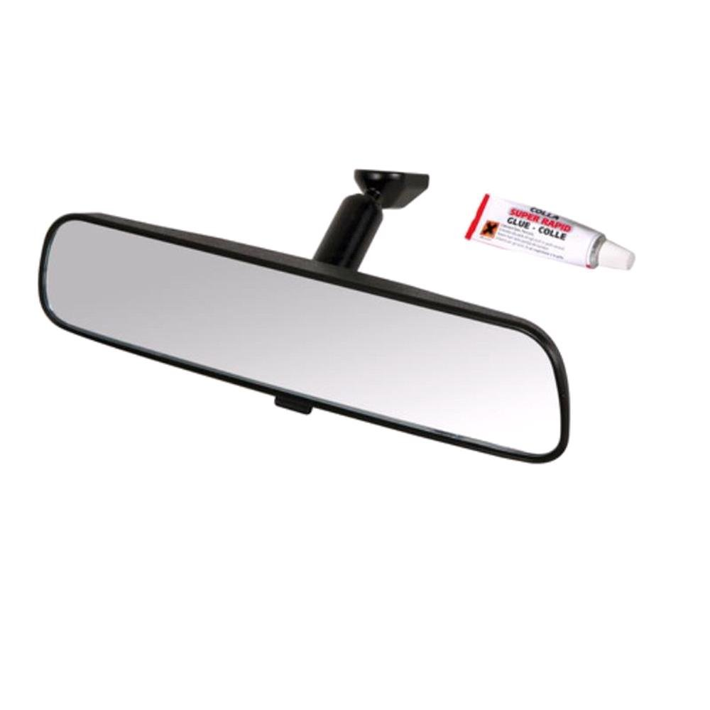 Replacement Interior Rear View Mirror 250x60 Mm With Glue