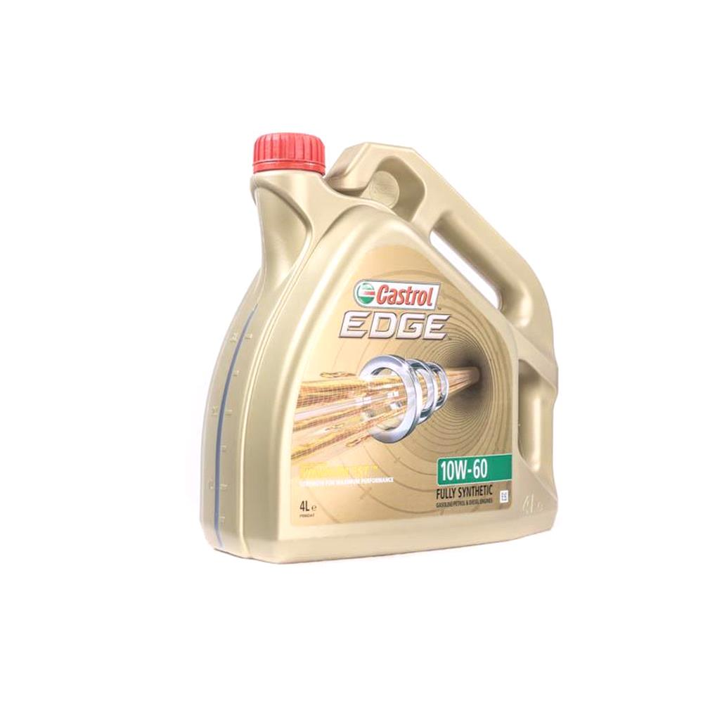 Castrol Edge 10w60 Fully Synthetic Engine Oil 4 Litre