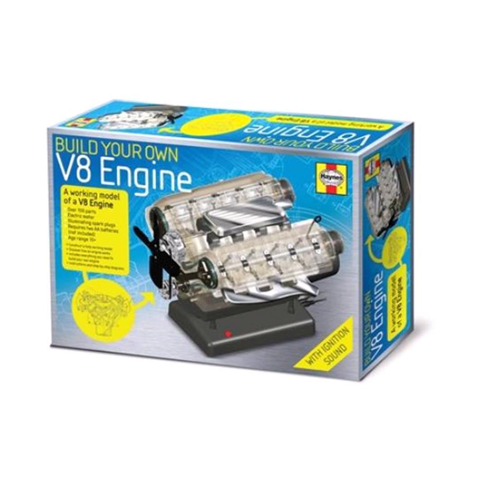 V8 Engine Kit: Build Your Own V8 Combustion Engine Kit