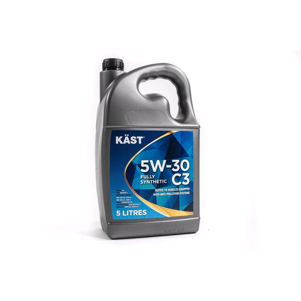 Kast 5w30 fully synthetic c3 engine oil 5 litre for 5w30 fully synthetic motor oil