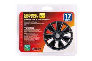 Silicone nut caps, 20 pcs - 17 mm