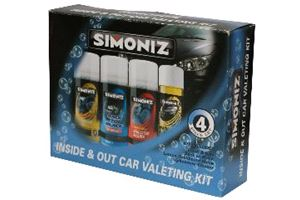 Simoniz Inside and Out Valeting - 4 Piece Kit