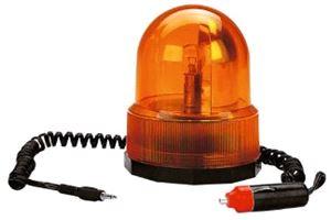 Yellow Flashing Warning Lamp