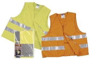 Yellow High Visibility Vest - . 