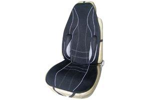 Ergoseat Sport Line Deluxe Seat Cushion - Black / Grey Strip  Deluxe sport