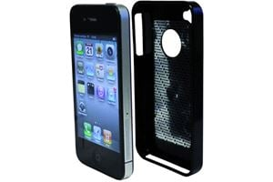 Tetrax Xcase iPhone 4 Black Soft Touch
