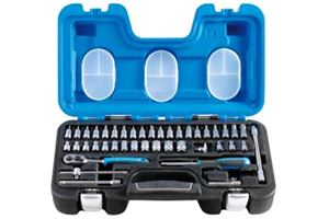 Irimo 1/4in Socket Set 46 Piece