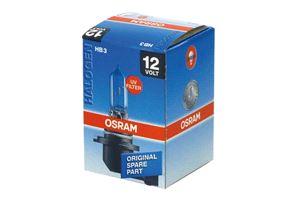 (with Halogen headlamps) Full Beam - HB3 bulbs  Osram HB3/9005 Bulb (Single